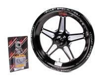 Billet Specialties - Billet Specialties 15x3.5 Comp Wheel 1.75bs 5x4.5 bc Black