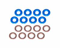O-rings, Grommets and Vacuum Caps - NEW - O-rings - NEW - Cometic - Cometic Fuel Injector O-Ring Set GM LS Car/Truck/SUV
