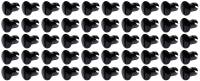 Body & Exterior - Ti22 Performance - Ti22 Oval Head Dzus Buttons .500 Long - Pack of 50 - Black