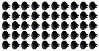Body & Exterior - Ti22 Performance - Ti22 Large Head Dzus Buttons .500 Long - Pack of 50 - Black