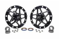 Front End Components - Front Hubs - Ti22 Performance - Ti22 Direct Mount Front Hubs Forged - Black