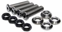 Titanium Bolts & Studs - Titanium Steering Arm Bolts - Ti22 Performance - Ti22 Button Head Tie Rod And Drag Link Kit - Titanium