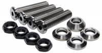 Titanium Bolts & Studs - Titanium Steering Arm Bolts - Ti22 Performance - Ti22 Button Head Tie Rod Or Drag Link Stud - Titanium