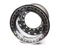 """Weld Wide 5 XL Beadlock Wheels - Weld Wide 5 XL Beadlock 15"""" x 14"""" - Weld Racing - Weld Racing 15 X 14 Wide 5 XL 5"""" BS Bead-Loc w/Black Cover"""