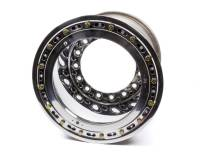 """Weld Wide 5 XL Beadlock Wheels - Weld Wide 5 XL Beadlock 15"""" x 14"""" - Weld Racing - Weld Racing 15x14 Wide 5 XL 6"""" BS Bead-Loc 11.9lbs w/Cvr"""