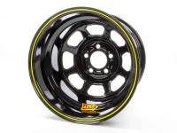 "Aero 51 Series Spun Wheels - Aero 51 Series 15"" x 10"" - Wide 5 - Aero Wheels - Aero 51-Series Spun Formed Wheel - Black - 15"" x 10"" - 2"" Backspace - Wide 5 Bolt Pattern"