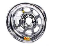"Aero 51 Series Spun Wheels - Aero 51 Series 15"" x 10"" - Wide 5 - Aero Race Wheel - Aero 51-Series Spun Formed Wheel - Chrome - 15"" x 10"" - 4"" Backspace - Wide 5 Bolt Pattern"