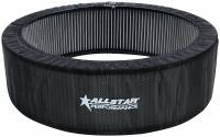 "Air Cleaners and Intakes - Air Filter Wraps and Pre-Filters - Allstar Performance - Allstar Performance Air Cleaner Filter Without Top Cover 14"" x 3"""
