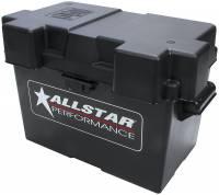 Battery - Battery Boxes & Mounts - Bolt-In - Allstar Performance - Allstar Performance Plastic Molded Battery Box