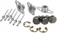 Wheel Parts & Accessories - Bead Locks & Covers - Allstar Performance - Allstar Performance Wheel Cover Retainer Kit - Stainless Steel