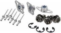 Wheel Parts & Accessories - Bead Locks & Covers - Allstar Performance - Allstar Performance Wheel Cover Retainer Kit - Titanium