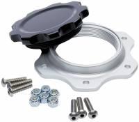 Fuel Cells, Tanks and Components - Fuel Cell Filler Caps - Allstar Performance - Allstar Performance Fuel Cell Cap and Bung JAZ 6-Bolt Black Cap