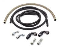 Power Steering Hose & Fittings - Power Steering Hose Kits - Allstar Performance - Allstar Performance Power Steering Hose Kit For Rack And Pinion Steering - Rear Mount