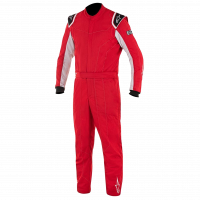 HOLIDAY SAVINGS DEALS! - Alpinestars - Alpinestars Delta Race Suit - Red / Silver - Size 58