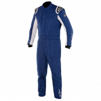 HOLIDAY SAVINGS DEALS! - Alpinestars - Alpinestars Delta Race Suit - Blue / Silver - Size 58