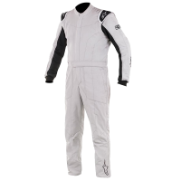 HOLIDAY SAVINGS DEALS! - Alpinestars - Alpinestars Delta Race Suit - Silver / Black - Size 54