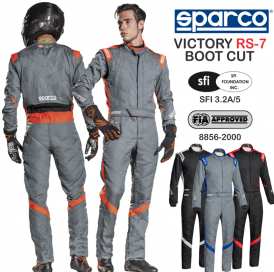 Racing Suits - Sparco Racing Suits - Sparco Victory RS-7 Racing Boot Cut Suit - $898.99