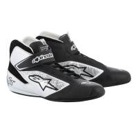 Racing Shoes - Alpinestars Racing Shoes - Alpinestars - Alpinestars 2019 Tech 1-T Shoe - Black / Silver - Pre-Order