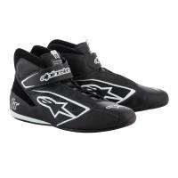 Racing Shoes - Alpinestars Racing Shoes - Alpinestars - Alpinestars 2019 Tech 1-T Shoe - Black / White - Pre-Order
