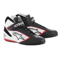 Racing Shoes - Alpinestars Racing Shoes - Alpinestars - Alpinestars 2019 Tech 1-T Shoe - Black / White / Red - Pre-Order