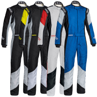 Racing Suits - Racing Suit Closeouts - Sparco - Sparco Grip RS-4 Racing Suit - Black / Yellow - Size 58