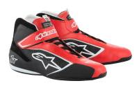 Racing Shoes - Alpinestars Racing Shoes - Alpinestars - Alpinestars 2019 Tech 1-T Shoe - Red / Black / White - Pre-Order