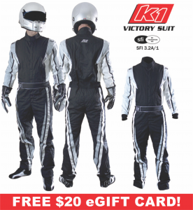 Kids Race Gear - Kids Racing Suits - K1 RaceGear Youth Victory Suits -  $215