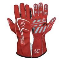K1 RaceGear - K1 RaceGear Track 1 Glove - Red