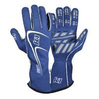 K1 RaceGear - K1 RaceGear Track 1 Glove - Blue