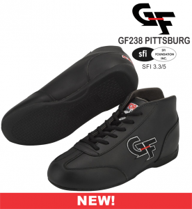 Racing Shoes - Shop All Auto Racing Shoes - G-Force GF238 Pittsburg Dirt Racing Shoes - $84.99