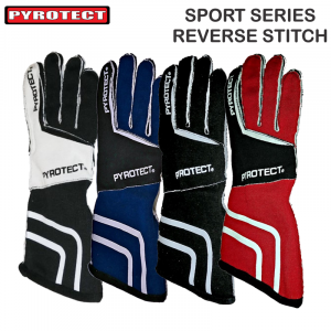 Racing Gloves - Pyrotect Gloves - Pyrotect Sport Series Reverse Stitch Gloves - $89