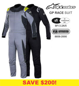 Alpinestars GP Race Suits - SALE $499.88 - SAVE $200!