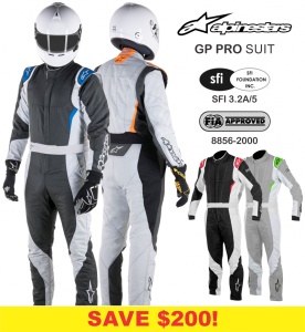 Alpinestars GP Pro Race Suits - SALE $799.95 - SAVE $200