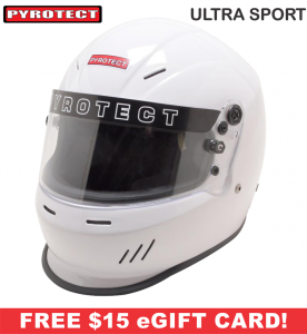 Racing Helmet Deals - Pyrotect Helmet Deals - UltraSport Helmet - SALE $194.87 - SAVE $34