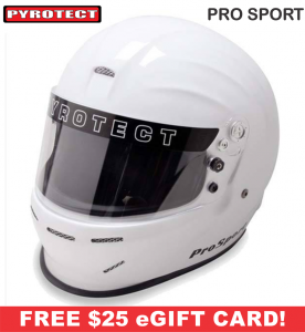 Racing Helmet Deals - Pyrotect Helmet Deals - ProSport Helmet - SALE $228.87 - SAVE $40