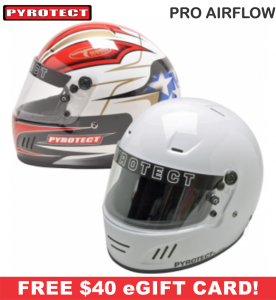 Racing Helmet Deals - Pyrotect Helmet Deals - Pro Airflow Helmet - SALE $322.87 - SAVE $56