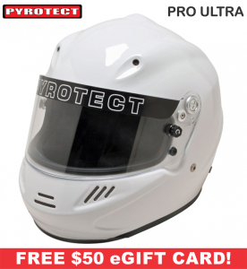 Racing Helmet Deals - Pyrotect Helmet Deals - Pro Ultra - SALE $407.87 - SAVE $71