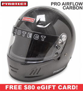 Racing Helmet Deals - Pyrotect Helmet Deals - Pro Airflow Carbon Helmet - SALE $662.87 - SAVE $116