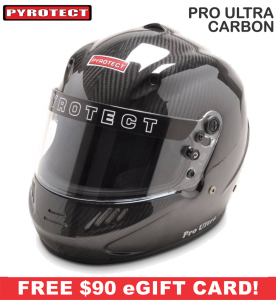 Racing Helmet Deals - Pyrotect Helmet Deals - Pro Ultra Carbon Helmet - SALE $747.87 - SAVE $131