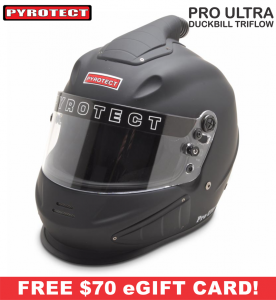 Helmets - Pyrotect Helmets - ON SALE! - Pyrotect Pro Ultra TriFlow Duckbill Helmet - SALE $559 - SAVE $140