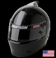 Simpson Helmets - Simpson Air Inforcer Shark Helmet - $899.95 - Simpson Race Products - Simpson Air Inforcer Shark Helmet - Black