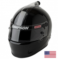 HOLIDAY SAVINGS DEALS! - Simpson Race Products - Simpson Air Inforcer Shark Helmet - Matte Black