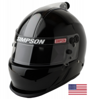 HOLIDAY SAVINGS DEALS! - Simpson Race Products - Simpson Air Inforcer Vudo Helmet - Black