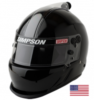Helmets - Simpson Helmets - Simpson Race Products - Simpson Air Inforcer Vudo Helmet - Matte Black