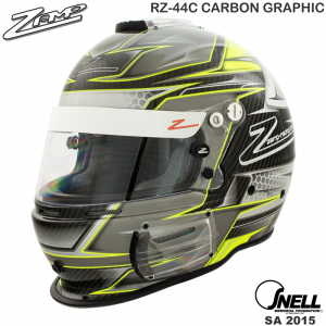 Helmets - Shop All Full Face Helmets - Zamp RZ-44C Carbon Graphic Helmets - $512.96