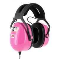 Scanners & Accessories - Scanner Headphones - Racing Electronics - Racing Electronics CLEAR Stereo Headphone - Pink