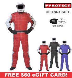 Racing Suits - Pyrotect Racing Suits - Pyrotect Ultra-1 Two Layer Nomex® Suit - $599