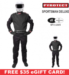 Racing Suits - Pyrotect Racing Suits - Pyrotect Sportsman Deluxe 3 Layer FR Suit - $329