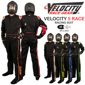 Racing Suits - Velocity Race Gear Race Suits - Velocity 5 Race Suit - SALE $249.99 - SAVE $80