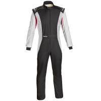 Safety Equipment - Sparco - Sparco Competition US Boot Cut Suit - Black/White